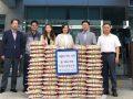 창원 진성조경테크(주) 백미 660kg 기탁